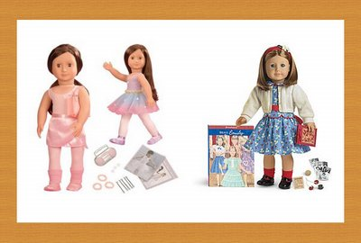 Generic doll meets American Girl exclusive