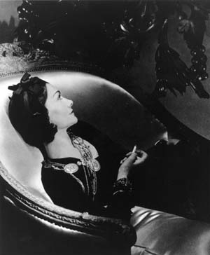 Horst photo of Coco Chanel 1937
