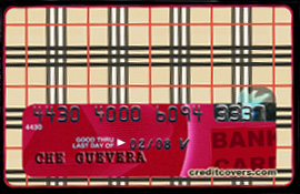 Credit Covers Burs & Berries design