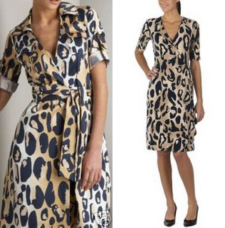 DVF spotted frog design (left) and alleged Target copy