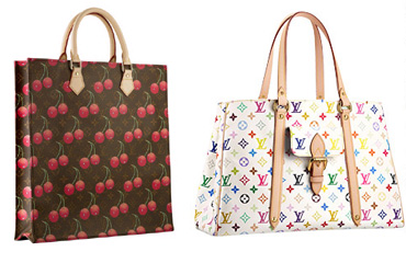 LV Cerises and Multicolore patterns