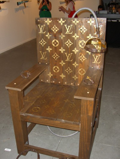 Louis Vuitton electric chair USD $4500