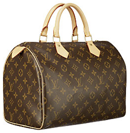 A real Louis Vuitton Speedy 30