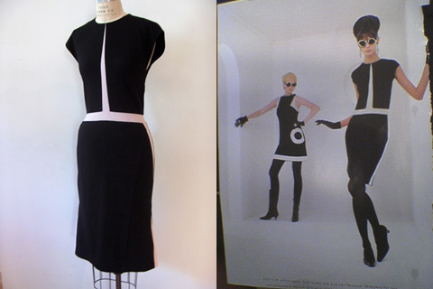 Narciso Rodriguez Fall 2003 original (left) and ABS copy