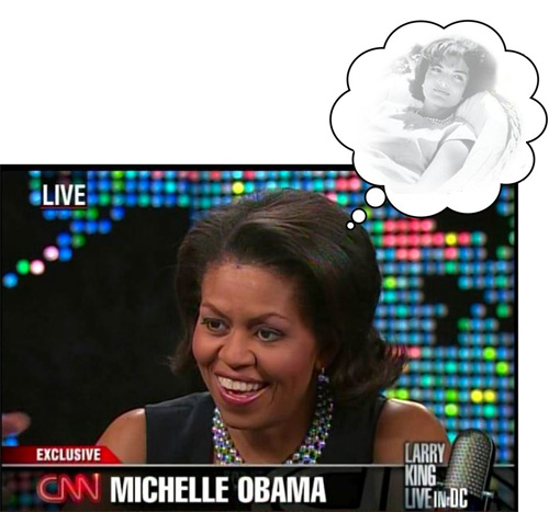 photoshopped jackie o Michelle o