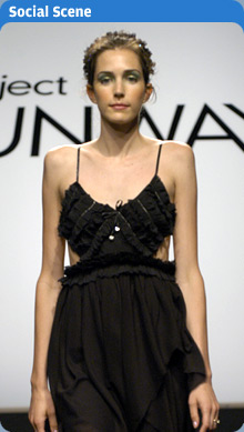 Project Runway - Marla's dress