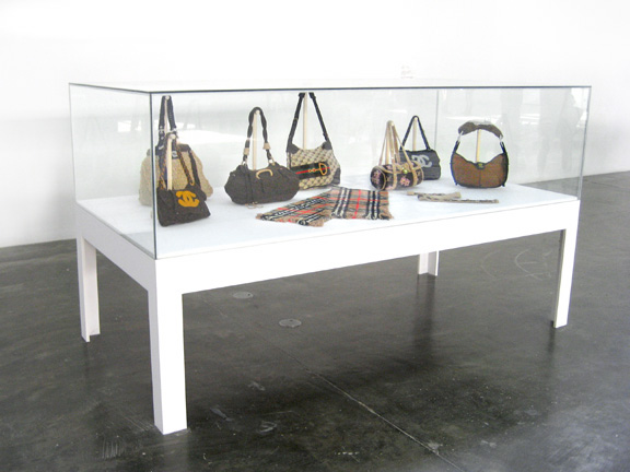 Crochet Bag Project displayed in Forged Realities