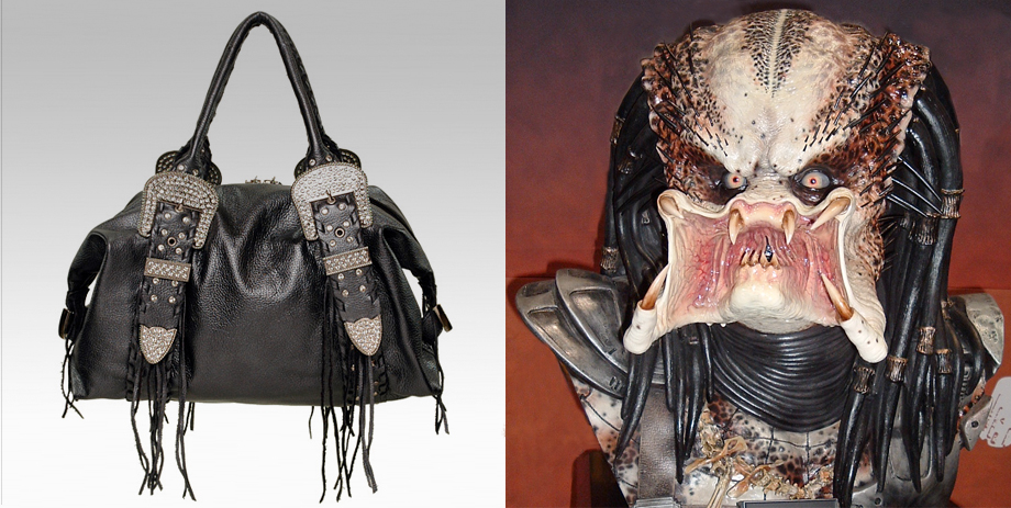 Charm and Luck purse with Predator